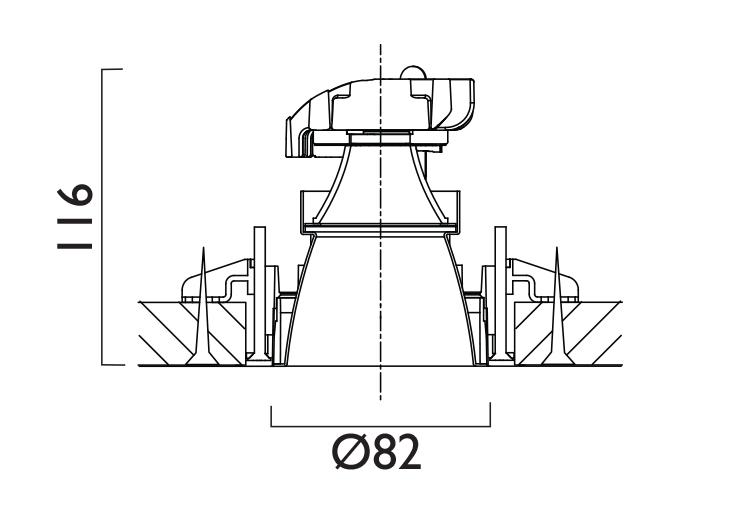VP X82 Line Drawing